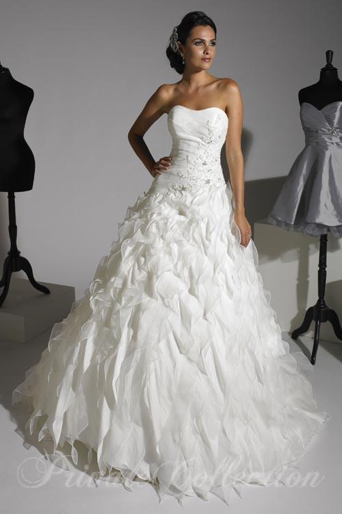 Unique Bridal Gown Rental Miami Model